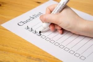 adjustment of status checklist