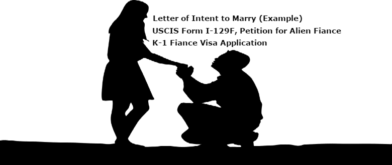 intent to marry letter example uscis i 129f petition for alien fiance k 1 fiance visa application lovevisalife